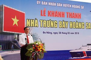 DA NANG INAUGURATION OF HOANG SA EXHIBITION HOUSE