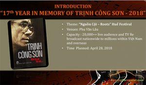 trinh cong son show
