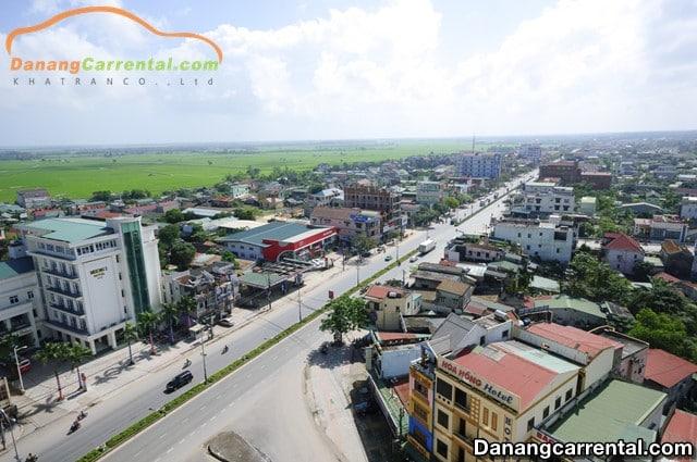 Car rental from Da Nang to Dong Ha