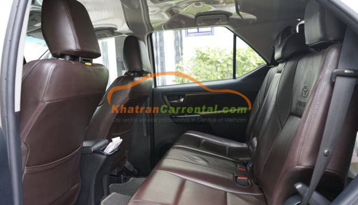 7 seats Toyota Fortuner
