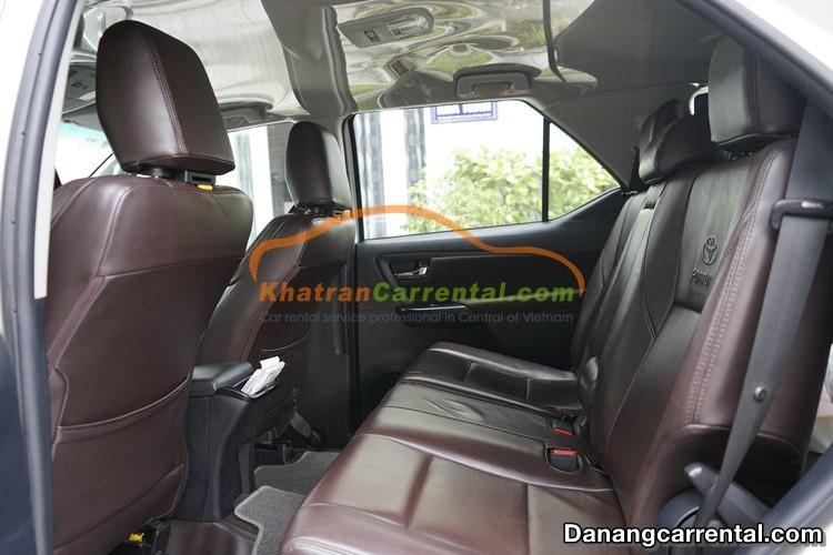 7 seats Toyota Fortuner