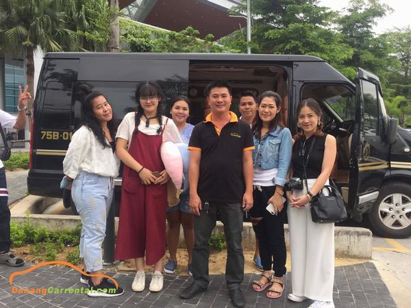 customer feedback da nang private car with driver service