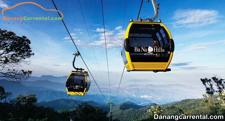 Cable car system Ba Na Hills