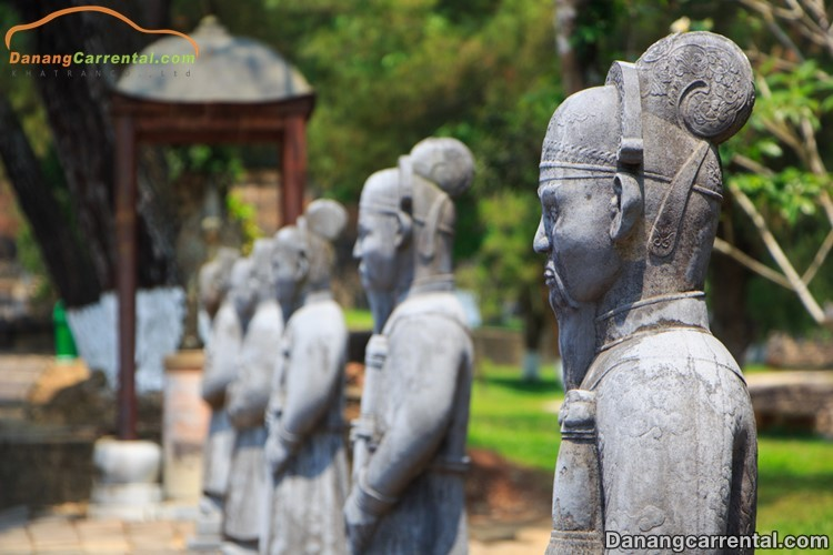 Minh Mang Mausoleum  – The perfect beauty of architecture and nature