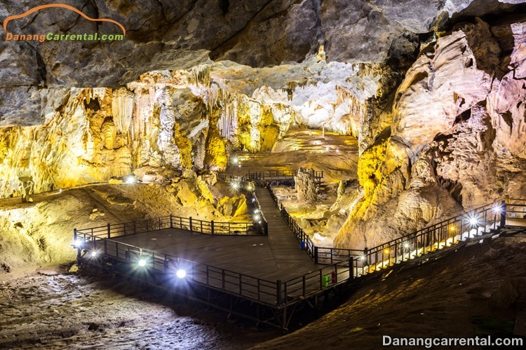 How long is in Thien Duong Cave Travel?