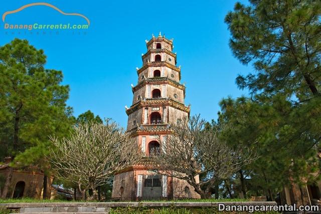 Phuoc Duyen Tower - A symbol of Thien Mu pagoda