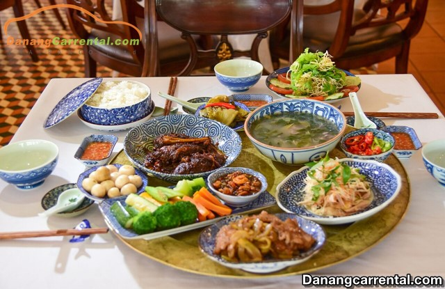 Furama Resort Da Nang food