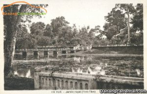 Tinh Tam Lake in the past