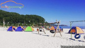 the beach of Tan Canh Duong