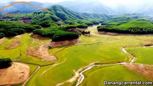 Hoa Trung lake Da Nang city