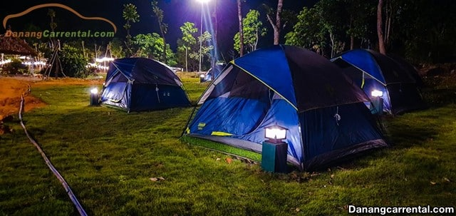camping in Bach Ma Village, Hue, Viet Nam