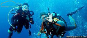 Diving in danang