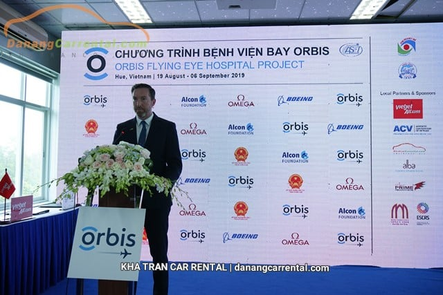 Da Nang Car Rental - Kha Tran is honored to be the Orbis-selected for transportation during the event
