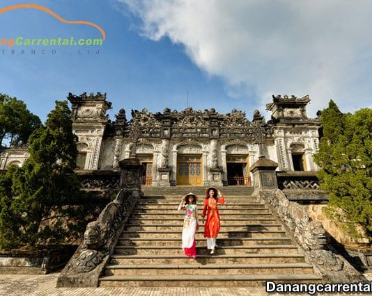 Khai Dinh tomb, Hue
